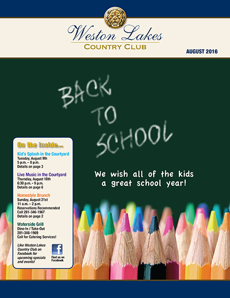 August 2016 Cover